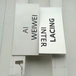 Exposição do Ai Weiwei - Interlacing, no MIS em São Paulo