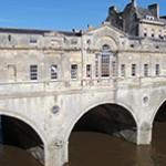 Bath, antiga cidade romana na Inglaterra