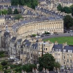 bath royal crescent aerea