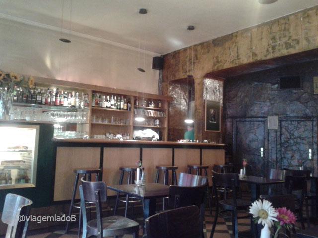 Café Neues Ufer - Berlim David Bowie