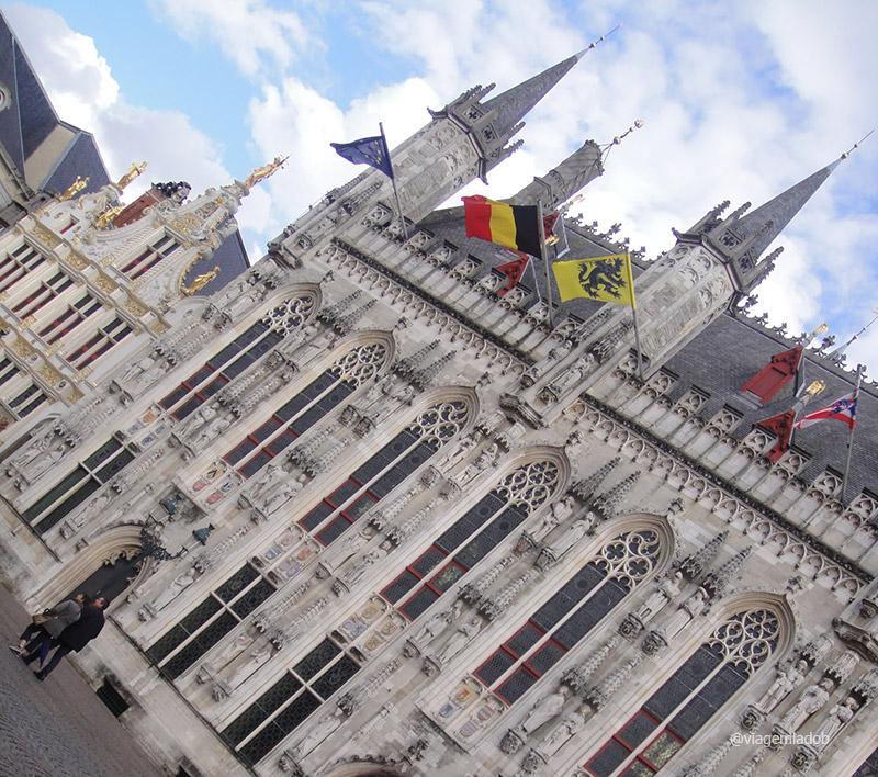 Bruges - prefeitura