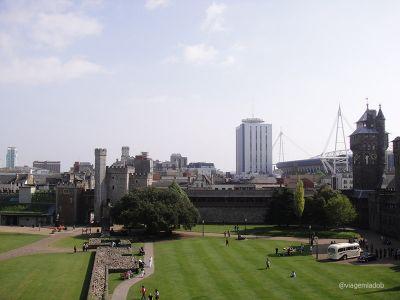 Castelo de Cardiff - Jardim