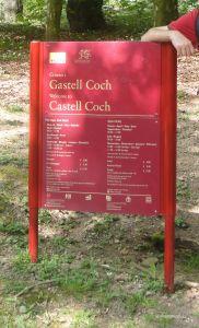 Cardiff - Placa Castell Coch