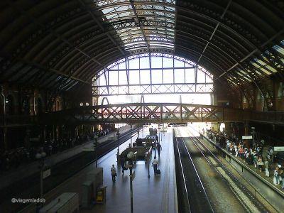 Estação da Luz - Trem - São Paulo