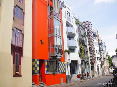 Frankfurt - rua Saalgasse