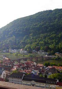 Heidelberg - Castelo - Vista da Ponte