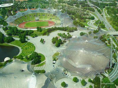 Munique - Parque olímpico - Vista da torre