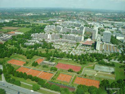 Munique - Vista da torre olímpica