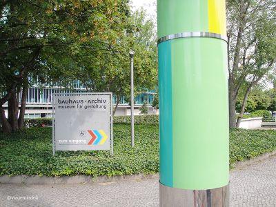 Museu Bauhaus - Entrada - Berlim/ Alemanha