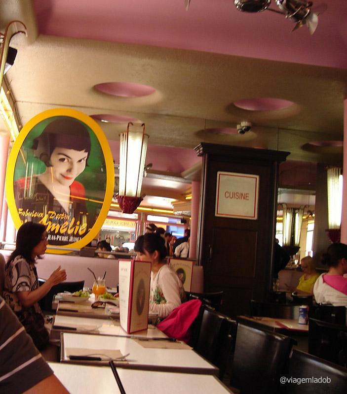 Café des le deux Moulins - Amélie Poulain