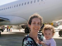 Dicas de viagem de avião com bebê