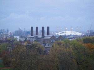 Greenwich vista O2