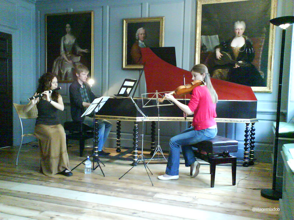 Apresentação no Handel Hendrix museum
