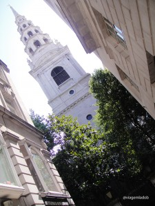 Igreja em Londres - St Bride's Church
