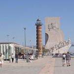 Monumento aos Descobrimentos e Torre de Belém em Lisboa - Portugal