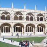 Mosteiro dos Jerónimos e Pastéis de Belém em Lisboa - Portugal