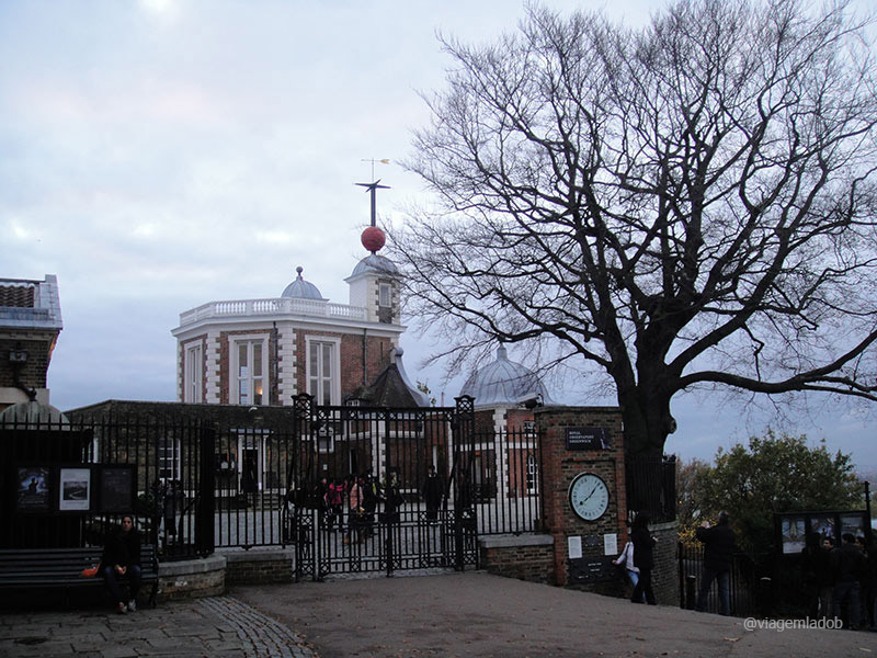 Parques em Londres - Greenwich - Royal Observatory