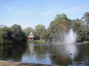 Parques em Londres - Victoria park