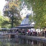 Brunch no Pavilion Café, Victoria Park - Londres