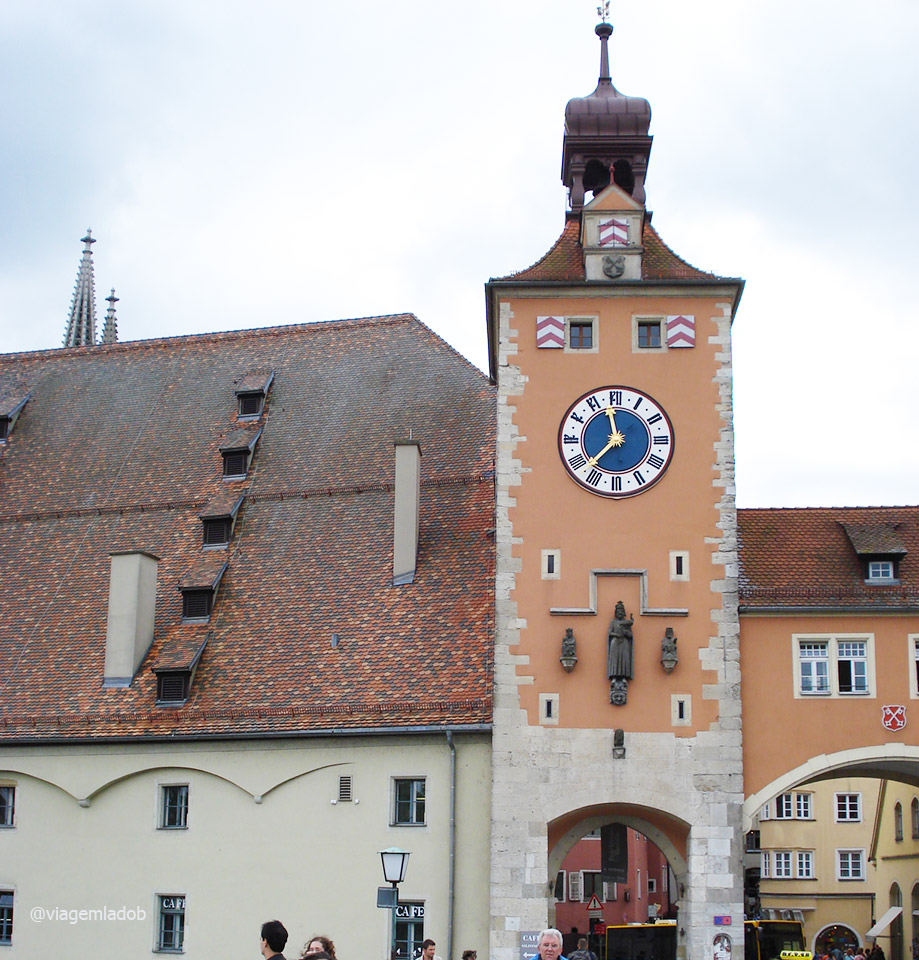 Regensburg - Bruckturm Museum Ponte