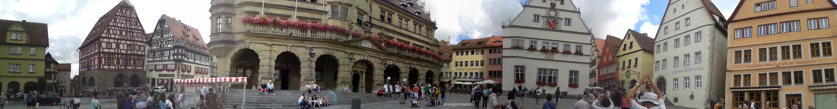 Rothenburg ob der Tauber - Panorâmica