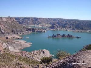 Cânion de Atuel em San Rafael, perto de Mendoza na Argentina
