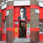 Vintage Magazine Shop no Soho em Londres