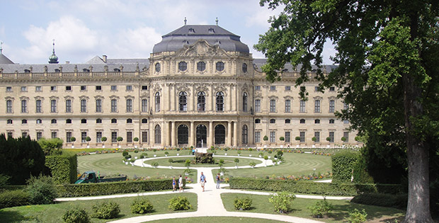 Würzburg - Palácio Real Residenz
