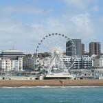 Brighton, praia perto de Londres
