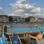 Arena Badeschiff, piscina ao ar livre em Berlim