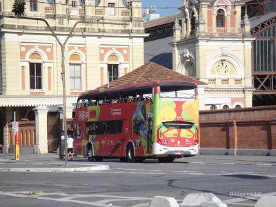 Estação da Luz - Ônibus turismo - São Paulo
