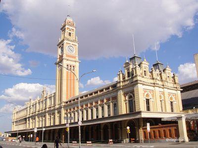 Estação da Luz - Torre do relógio - São Paulo