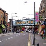 Camden Town reduto alternativo em Londres