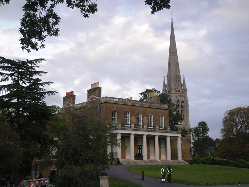 Clissold house - Londres