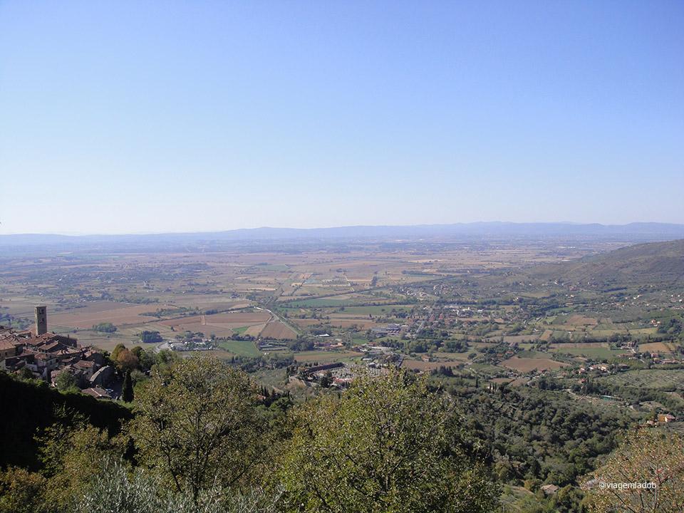 Cortona - Itália - Vista