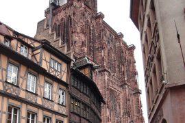 Estrasburgo - Catedral e Casa Kammerzell
