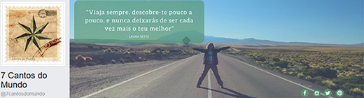 Facebook - 7 cantos do mundo