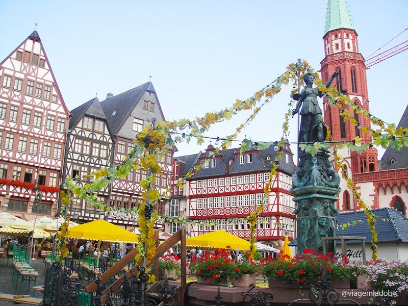 Frankfurt - Römerberg - Fonte