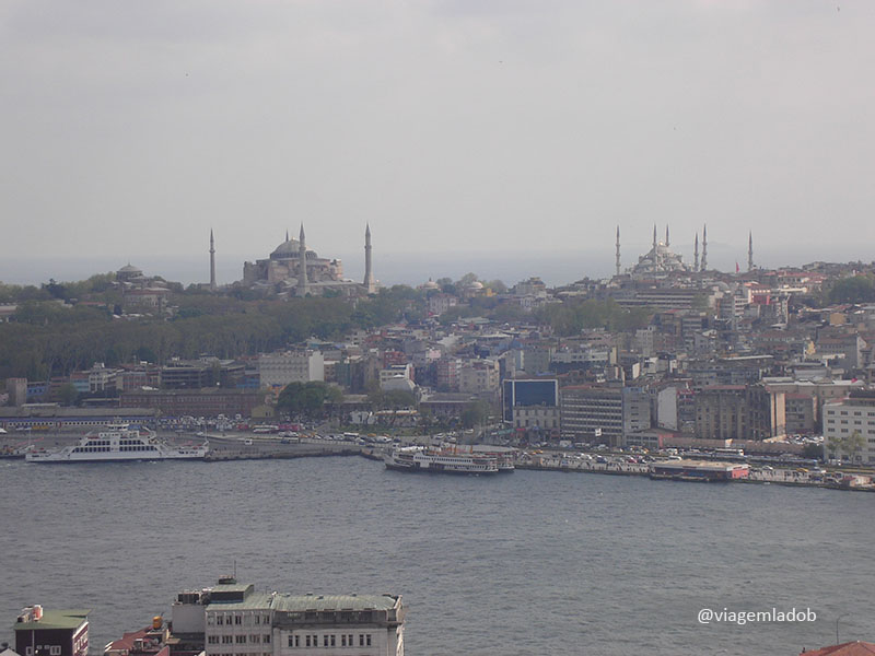 Visão da Galata tower - Istambul