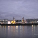 National Maritime Museum, Old Royal Naval College e barco Cutty Sark, em Greenwich
