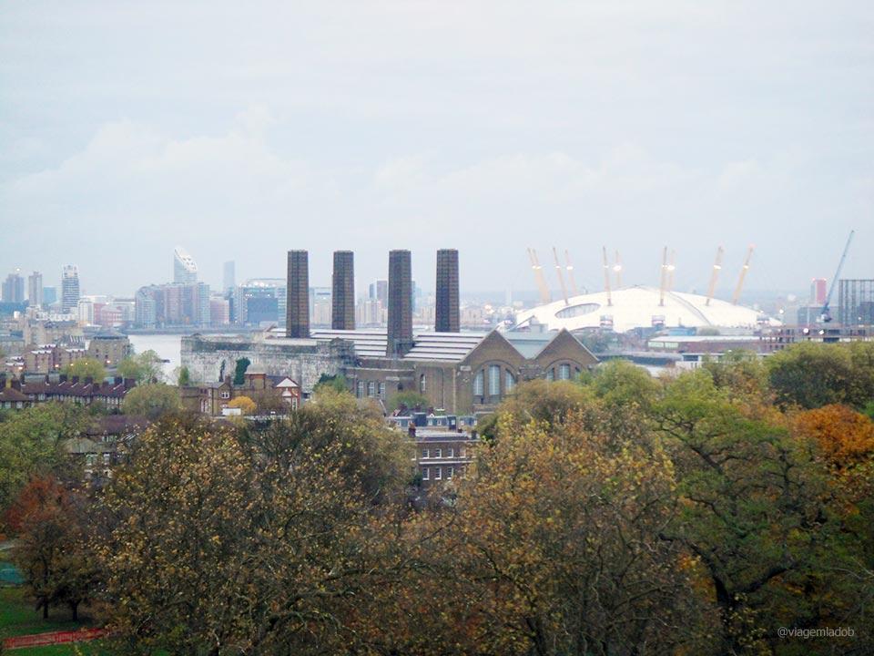 Mirantes Londres - Greenwich vista O2