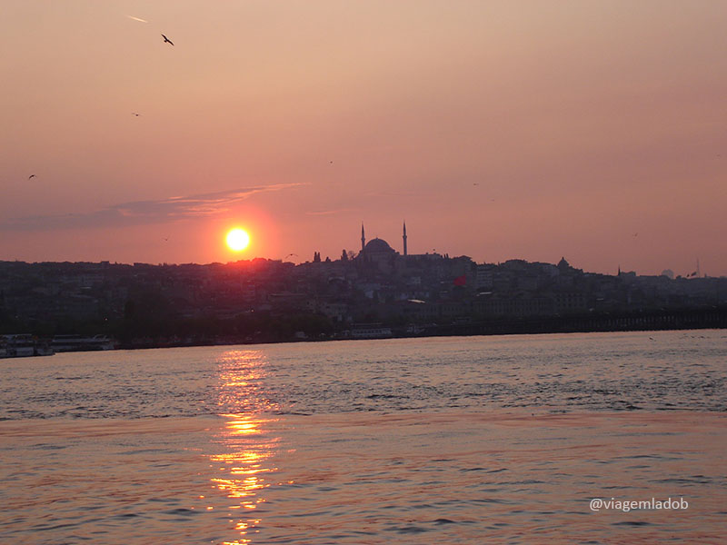 Istambul sunset