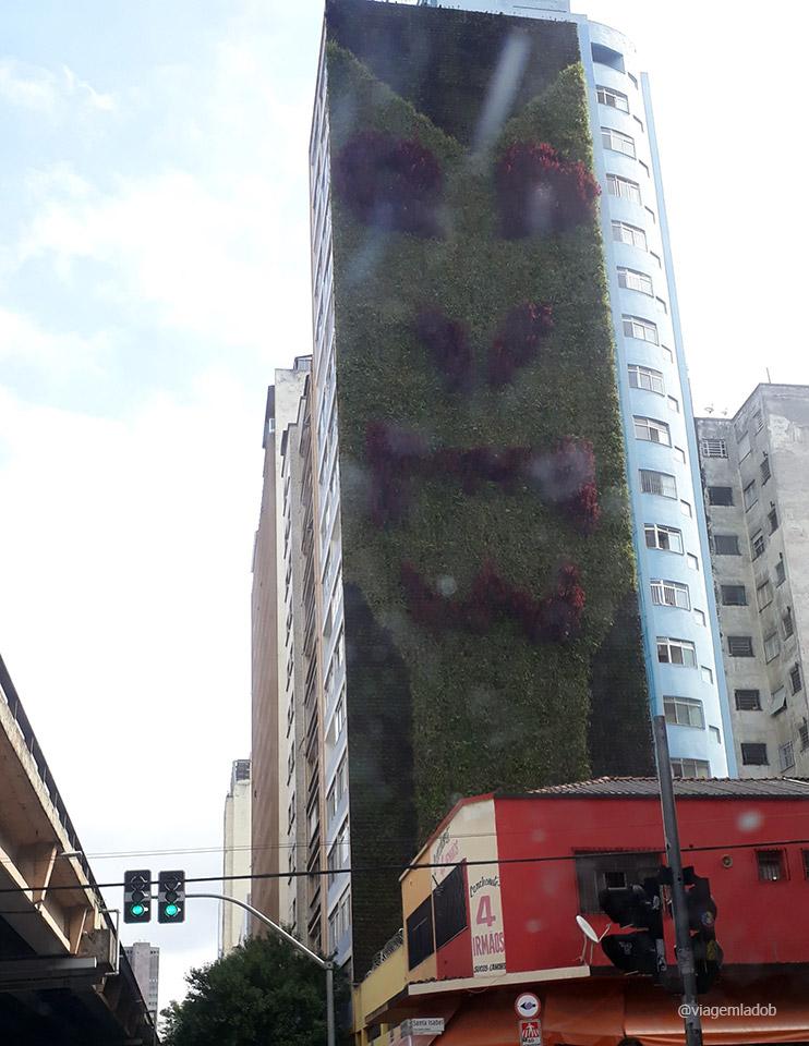 Jardim vertical - Minhocão São Paulo