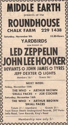 led zepellin roundhouse