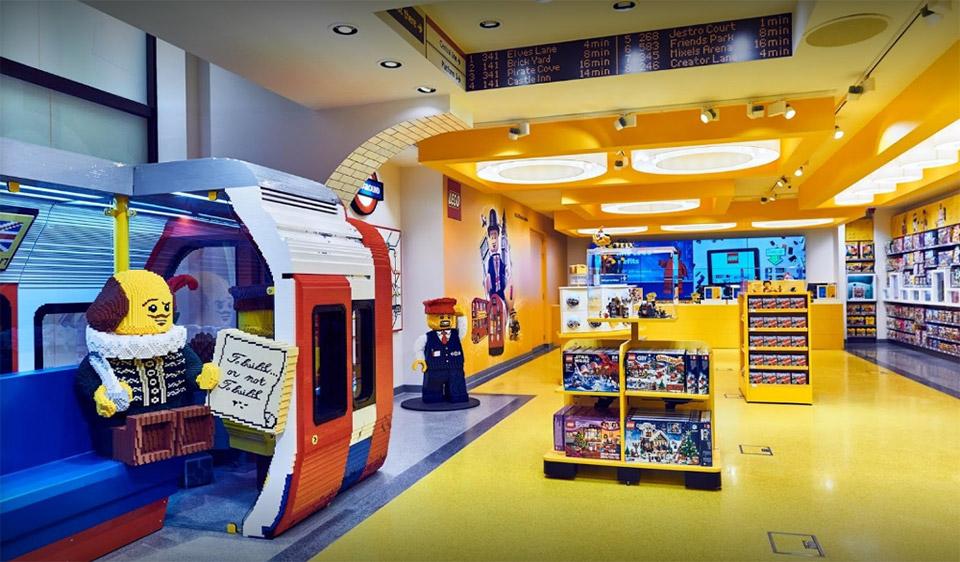 Loja Lego - Londres
