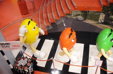 Loja M&M's World em Londres - Beatles Abbey Road