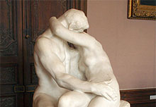 musee rodin beijo
