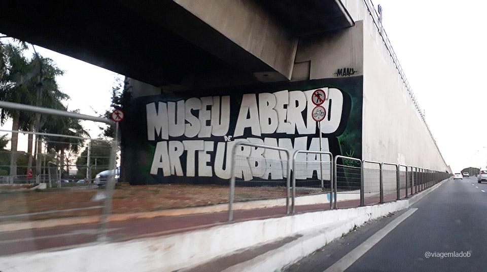 Museu Aberto de Arte Urbana - SP