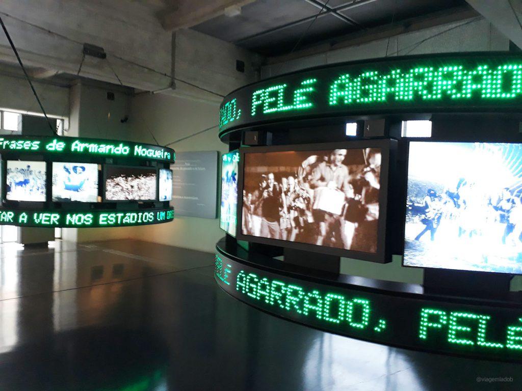 Museu do Futebol - São Paulo - Imagens de jogos
