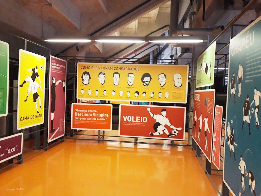 Museu do Futebol - São Paulo - Lances de jogo